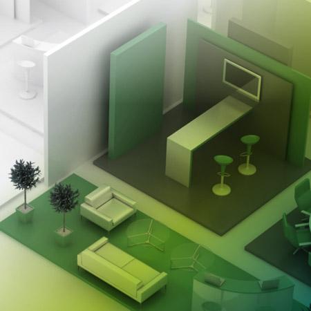 Standplanung und Design