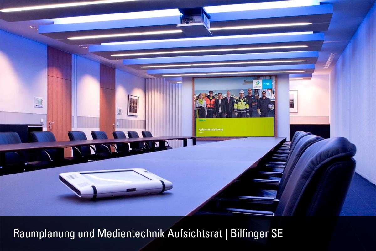 Raumplanung und Medientechnik Aufsichtsrat Bilfinger SE
